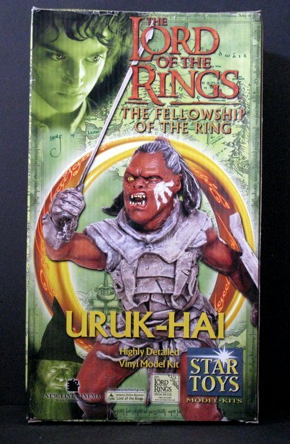 LORD OF THE RINGS - EVIL OGRE WARRIOR - RARE MODEL
