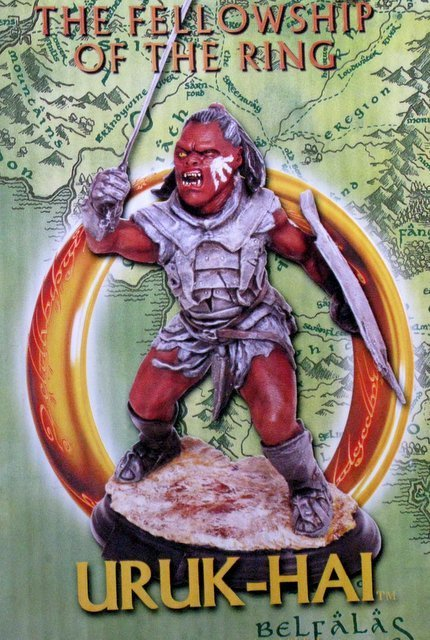 LORD OF THE RINGS - EVIL OGRE WARRIOR - RARE MODEL - 3