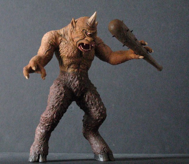 7TH VOYAGE OF SINBAD CYCLOPS - RARE PRO PAINTED MODEL - 5
