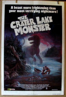 The Crater Lake Monster - 1977 - One Sheet Movie Poster