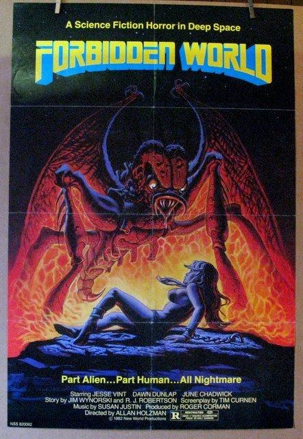 FORBIDDEN WORLD - 1982 - One Sheet Movie Poster - 26