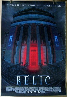 "The Relic - 1996 - One Sheet Movie Poster - 27""x 40"" -"