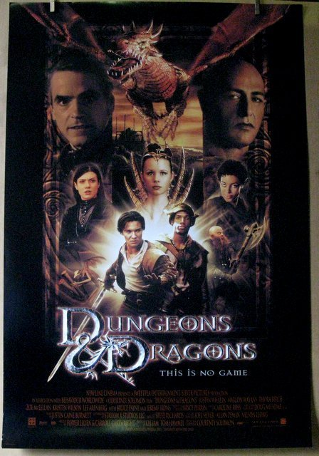 DUNGEONS AND DRAGONS - 2000 - One Sheet Movie Poster -