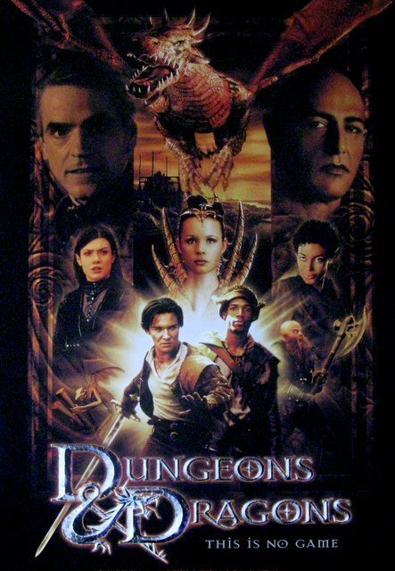 DUNGEONS AND DRAGONS - 2000 - One Sheet Movie Poster - - 2