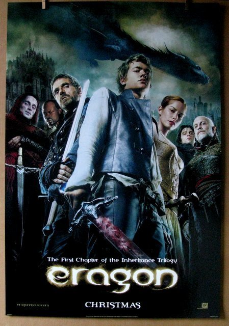 ERAGON - 2006 - Two Different Advance One Sheet Movie