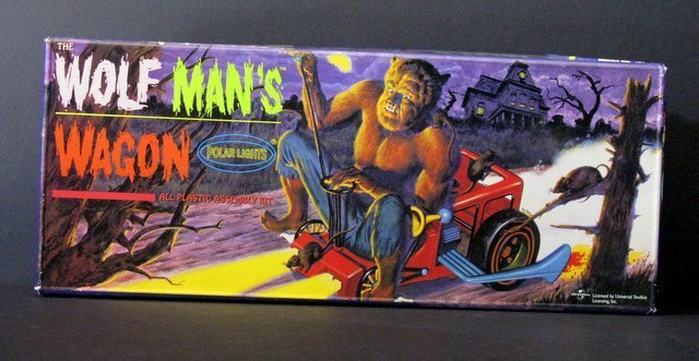 WOLF MAN'S WAGON RE-ISSUE OF THE CLASSIC 60'S AURORA