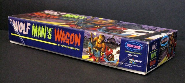 WOLF MAN'S WAGON RE-ISSUE OF THE CLASSIC 60'S AURORA - 2