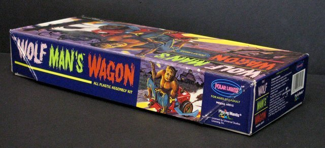 WOLF MAN'S WAGON RE-ISSUE OF THE CLASSIC 60'S AURORA - 3
