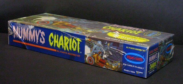 THE MUMMY'S CHARIOT RE-ISSUE OF THE CLASSIC 60'S AURORA - 2