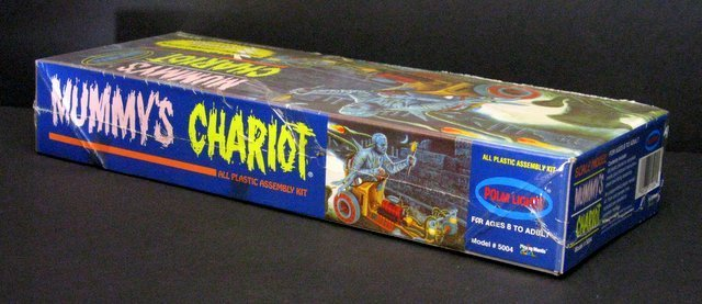 THE MUMMY'S CHARIOT RE-ISSUE OF THE CLASSIC 60'S AURORA - 3