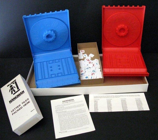 VINCENT PRICE - HANGMAN GAME - Milton Bradley, 1976 - - 3