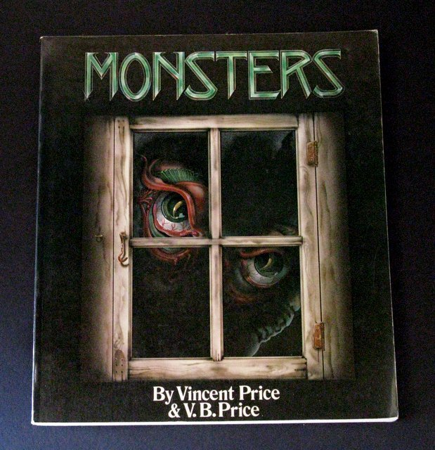 MONSTERS BY VINCENT PRICE DELUXE TRADE PAPERBACK -