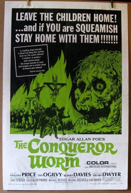 THE CONQUEROR WORM - 1968 - The Vincent Price Classic -