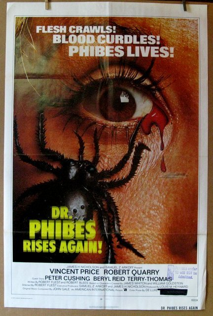 DR. PHIBES RISES AGAIN - 1972 - One Sheet Movie Poster