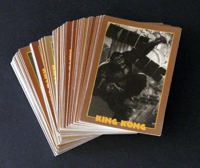 KING KONG TRADING CARDS - FULL SET OF 110 - Eclipse,