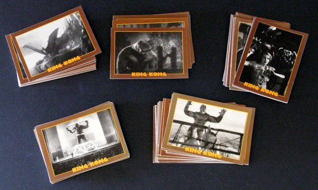 KING KONG TRADING CARDS - FULL SET OF 110 - Eclipse, - 2