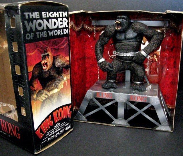 KING KONG - DELUXE BOX SET - McFarlane Toys, 2000 -