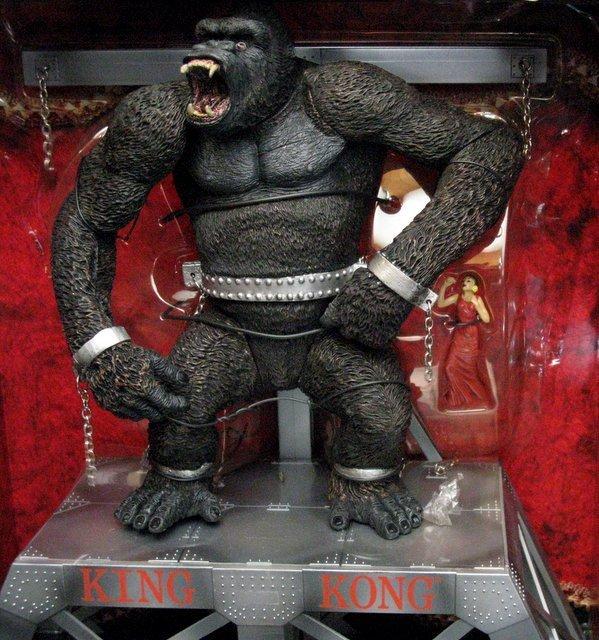 KING KONG - DELUXE BOX SET - McFarlane Toys, 2000 - - 2