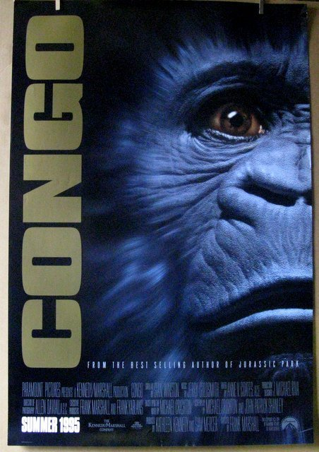 "CONGO - 1995 - One Sheet Movie Poster - 27""x 40"" - Near"