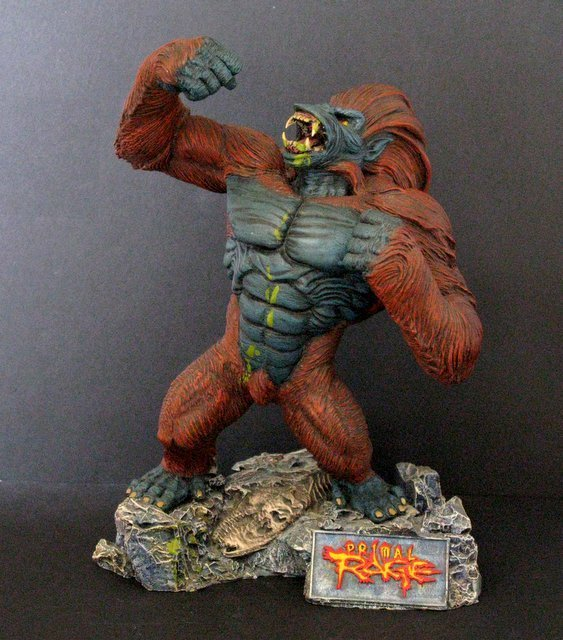 BLIZZARD from PRIMAL RAGE PRO PAINTED RESIN FIGURE -