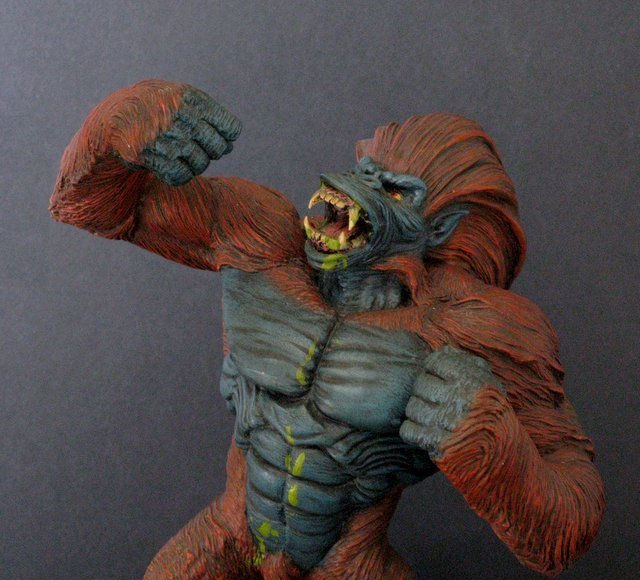 BLIZZARD from PRIMAL RAGE PRO PAINTED RESIN FIGURE - - 2