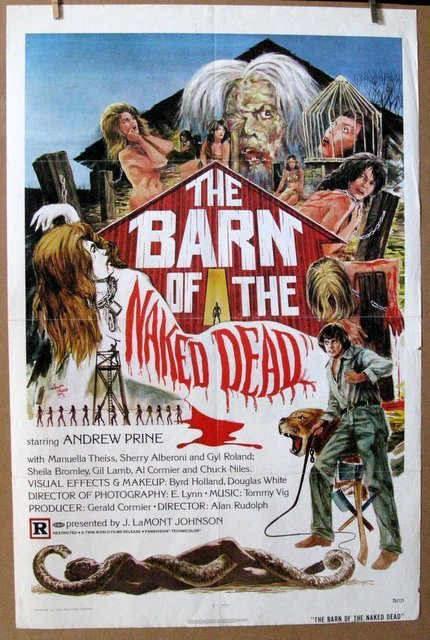 THE BARN OF THE NAKED - 1975 - One Sheet Movie Poster -