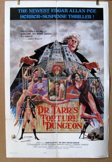 DR. TARR'S TORTURE DUNGEON - 1976 - One Sheet Movie