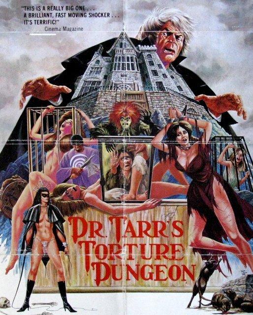 DR. TARR'S TORTURE DUNGEON - 1976 - One Sheet Movie - 2