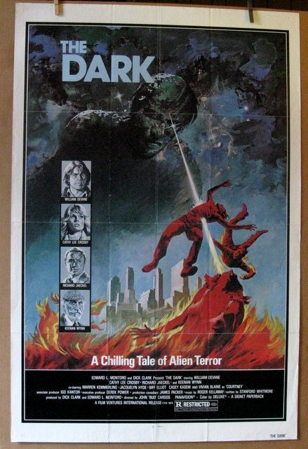 "THE DARK - 1979 - One Sheet Movie Poster - 27""x 41"" -"
