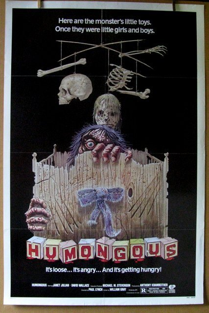 "HUMONGOUS - 1982 - One Sheet Movie Poster - 27""x 41"" -"