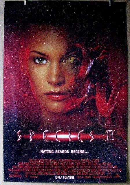 "SPECIES 2 - 1998 - One Sheet Movie Poster - 27""x 40"" -"