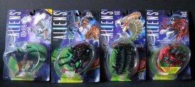 """Aliens 6"""" Action Figures - Lot Of 16 - Ten Aliens, 6"""