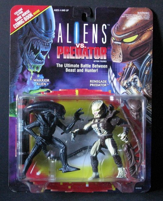 "ALIEN VS PREDATOR - 6"" ACTION FIGURE DOUBLE-PACK -"