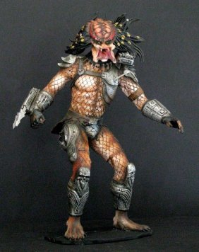 "Predator ""the Hunter"" Rare Painted Resin Model From"