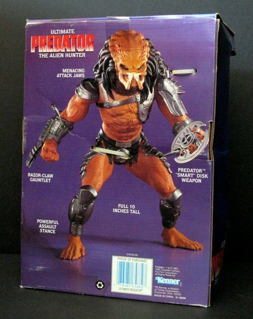 ULTIMATE PREDATOR ACTION FIGURE - Kenner Toys, 1995 - - 2