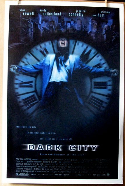 "DARK CITY - 1997 - One Sheet Movie Poster - 27""x 41"" -"