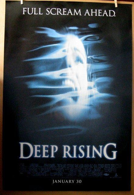 "DEEP RISING - 1998 - One Sheet Movie Poster - 27""x 40"""