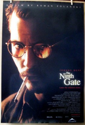 Roman Polanski's The Ninth Gate - 1999 - One Sheet