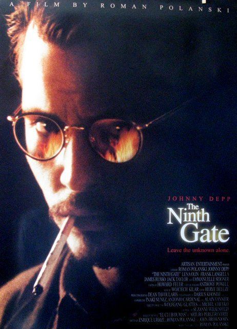 ROMAN POLANSKI'S THE NINTH GATE - 1999 - One Sheet - 2