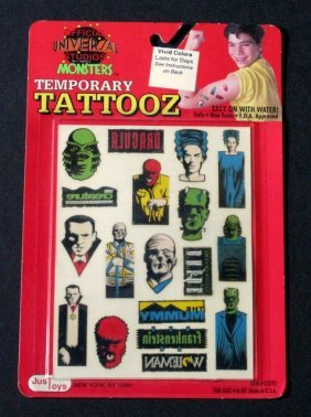 Universal Classic Monsters: Temporary Tattoos - Just