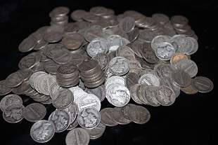 270 MERCURY DIMES - MIXED DATES - GOOD TO FINE COND.