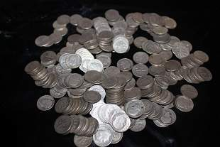 250 ROOSEVELT DIMES - MIXED DATES - $25.00 FACE