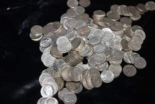 242 ROOSEVELT DIMES - MIXED DATES - $24.20 FACE