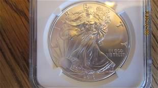 2016 MS69 1 OZ. AMERICAN EAGLE COIN - GRADED