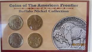 3 BUFFALO NICKEL SETS - ALL W/ SHARP DATES - 10 COINS