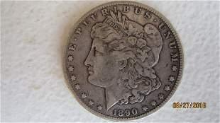 1890 CARSON CITY U.S. SILVER DOLLAR