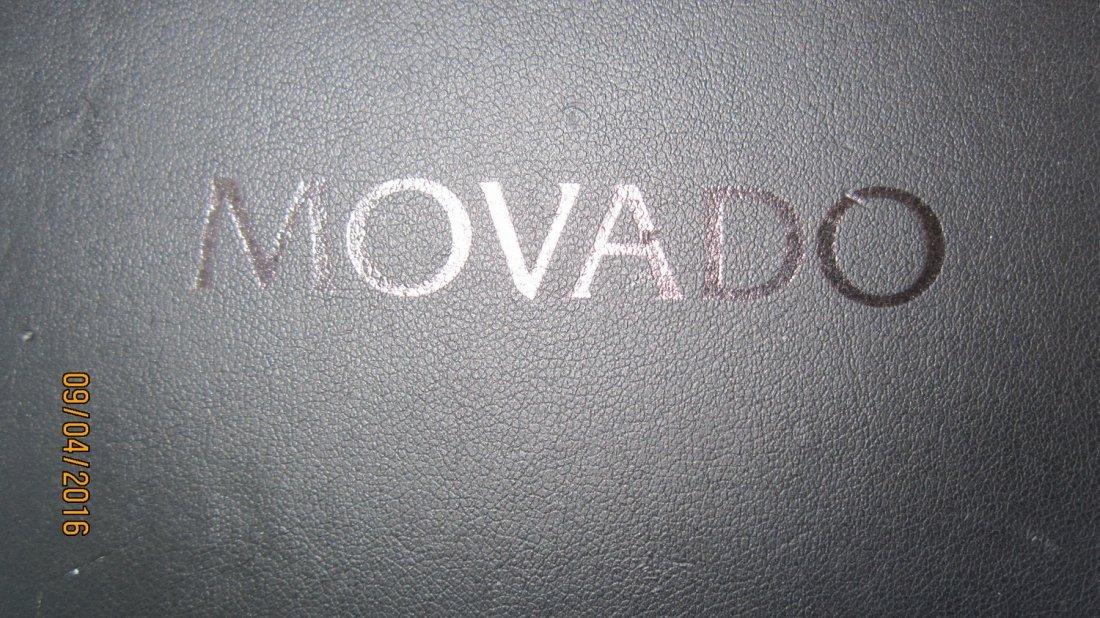 GREAT MOVADO FIESO TUNGSTEN CARBIDE MENS WATCH - 6