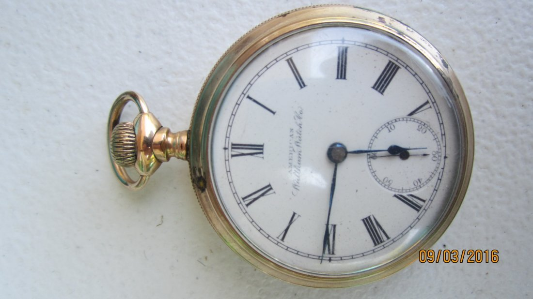 NICE AMERICAN WALTHAM WATCH CO. GOLD FILLED POCKET