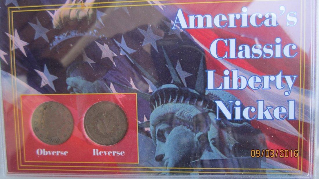 LOT OF U.S. NICKELS TO INC. 9 LIBERTY  & 5 BUFFALO'S - - 4