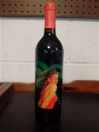 2002 NORMA JEAN - A YOUNG MERLOT BOTTLE OF WINE - NEVER
